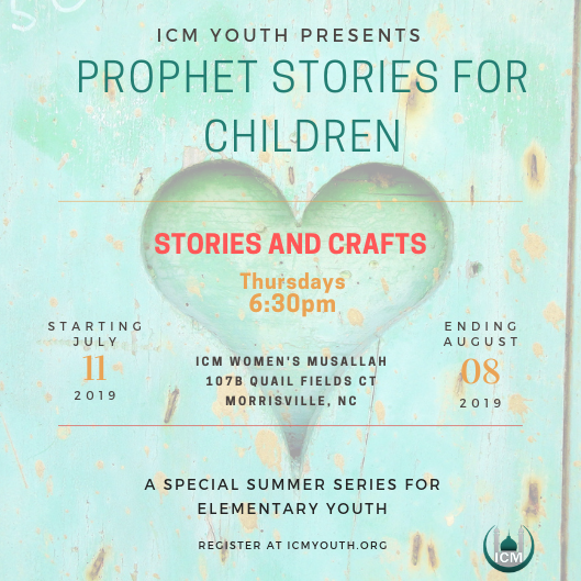 Elementary Stories of Prophets Series – Islamic Center of